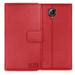Multifunctional-Wallet-Case-OnePlus3-Red-4